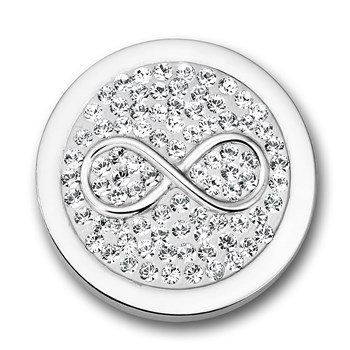Mi Moneda Infinito White Small Disc ONLY 2 LEFT!
