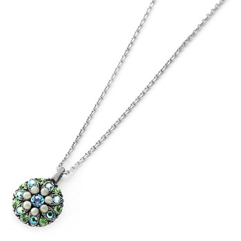 348800-Mariana Green and Blue Angel Necklace