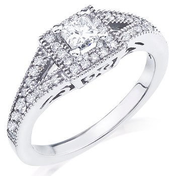 345535-Camelot Bridal Bella Diamond Ring