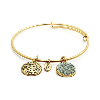 Chrysalis MARCH Blue Crystal Bangle