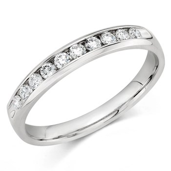 345697-Camelot Bridal Manoir Diamond Anniversary Ring