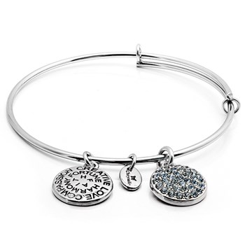 Chrysalis DECEMBER Crystal Bangle ONLY 3 LEFT!