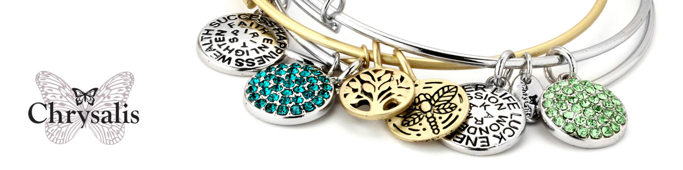 Chrysalis Bangle and Charm Bracelets