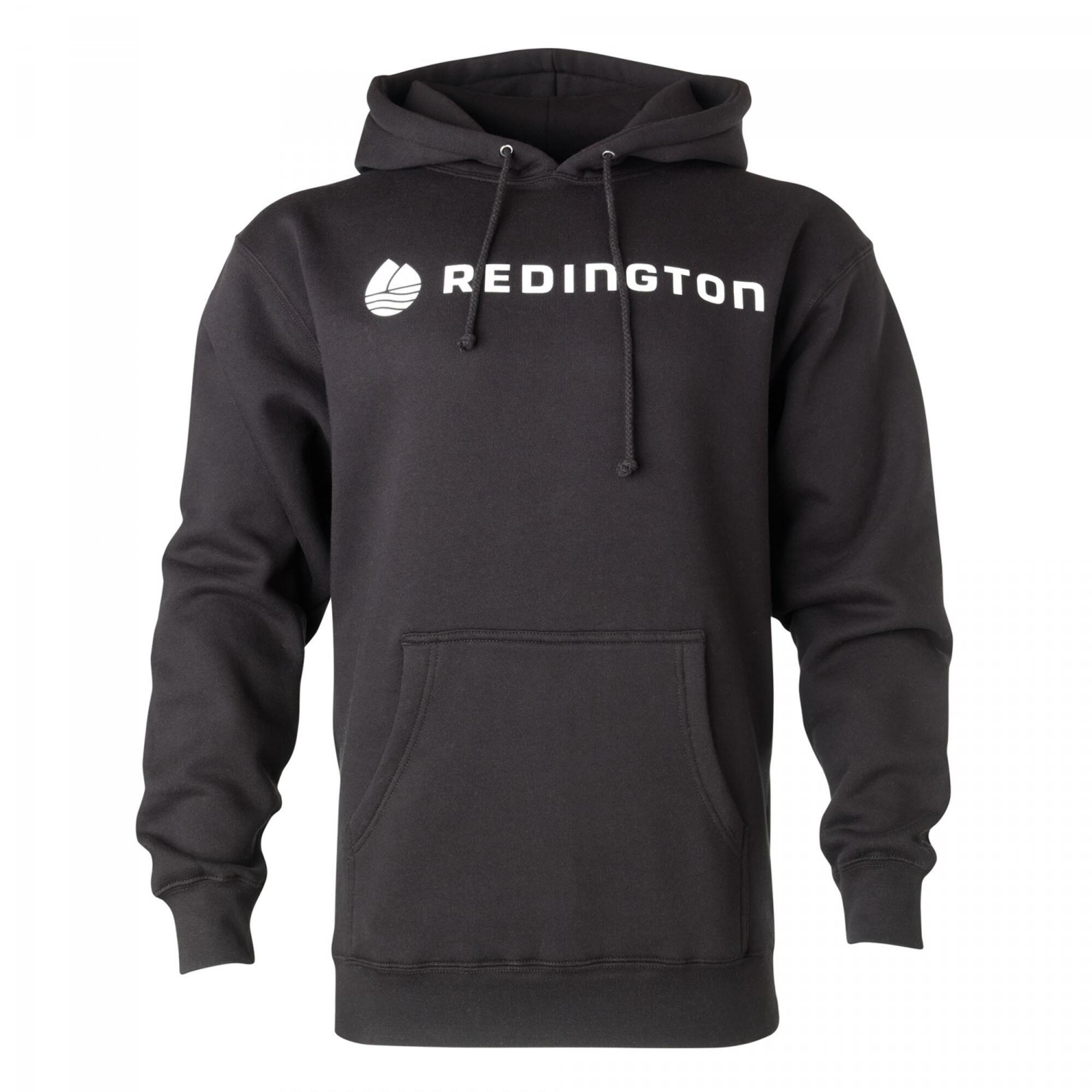 Redington logo hoodie redington for Fly fishing hoodie