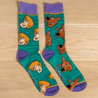 Scooby Doo and Shaggy Socks
