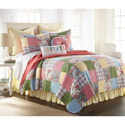 Sunny Patchwork Quilt by Donna Sharp - Full/Queen