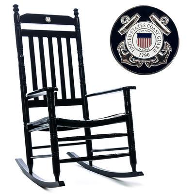 U S Coast Guard Fully Assembled Rocking Chair