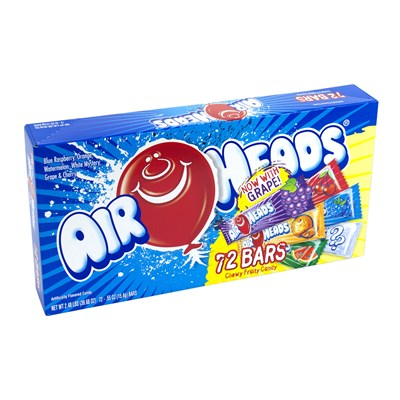 Airheads Singles Assorted - 72 Count
