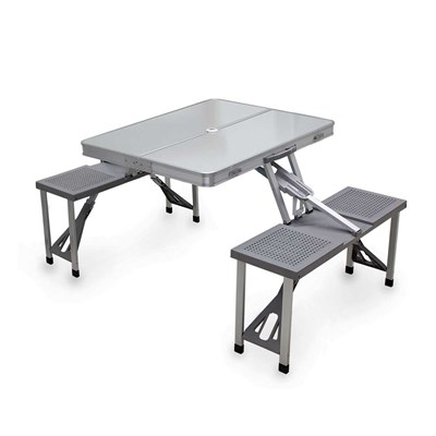 Aluminum Portable Picnic Table