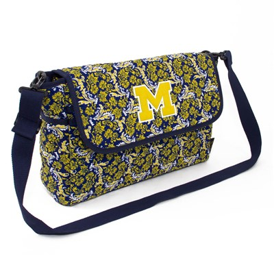 Michigan - Bloom Messenger Crossbody Purse