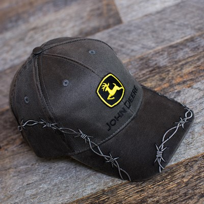 John Deere Barbed Wire Hat