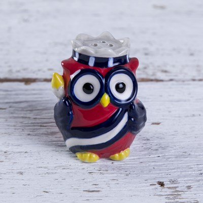 Mini Owl Pepper Shaker - Liberty