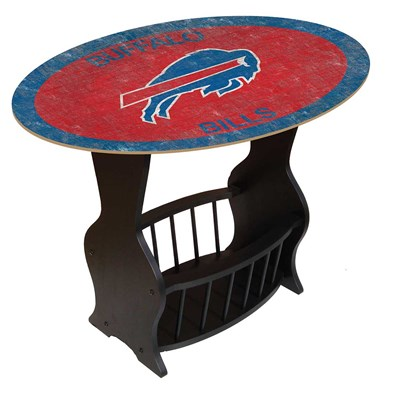 Buffalo Bills - Team Color End Table