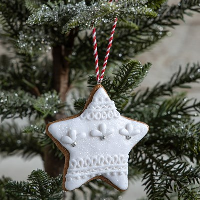 Oh Gussie! Claydough Star Ornament