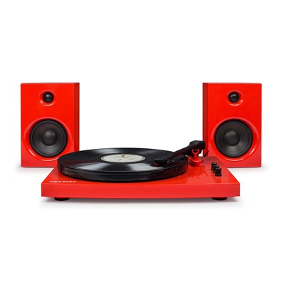 Crosley ® T100 Record Player and Speaker System - Red