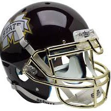 Mississippi State - Authentic Helmet