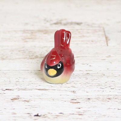 Mini Cardinal Pepper Shaker