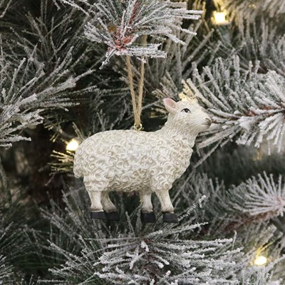 Standing Sheep Ornament