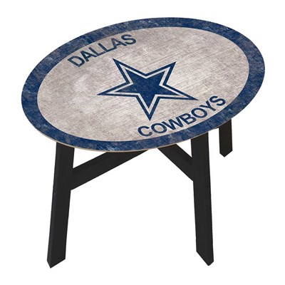 Dallas Cowboys - Team Color Side Table