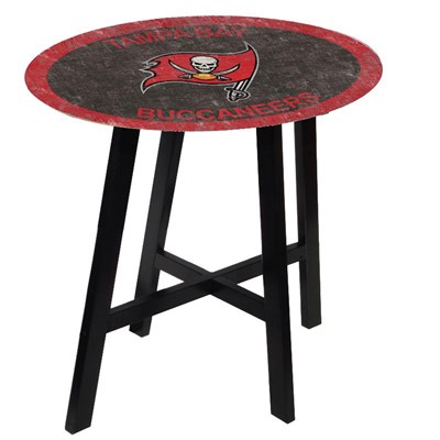 Tampa Bay Buccaneers - Team Color Pub Table