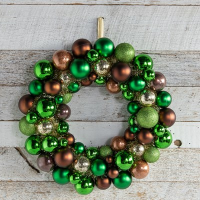 Oh Gussie! Shatterproof Ornament Christmas Wreath