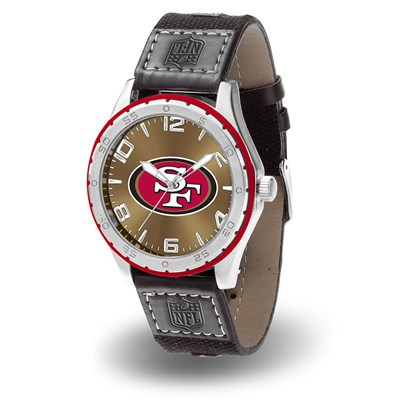 San Francisco 49ers Gambit Men's Watch