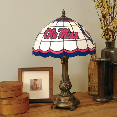 Tiffany Table Lamp - Ole Miss