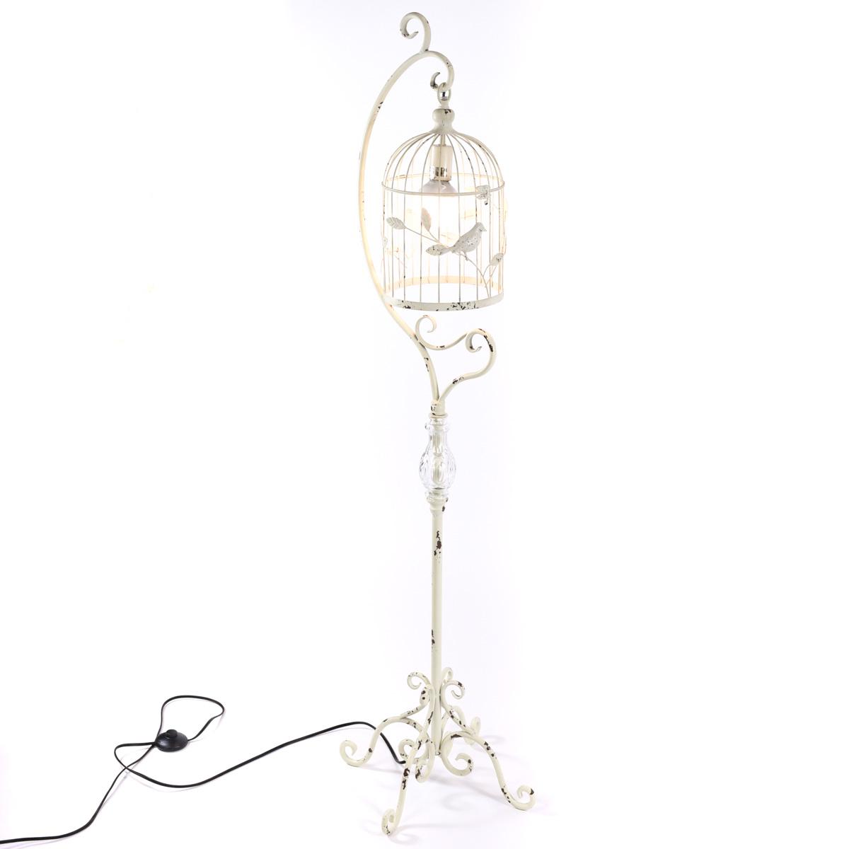 birdcage lamp birds table bird beautiful light