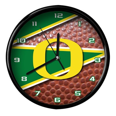 Oregon - Football Clock