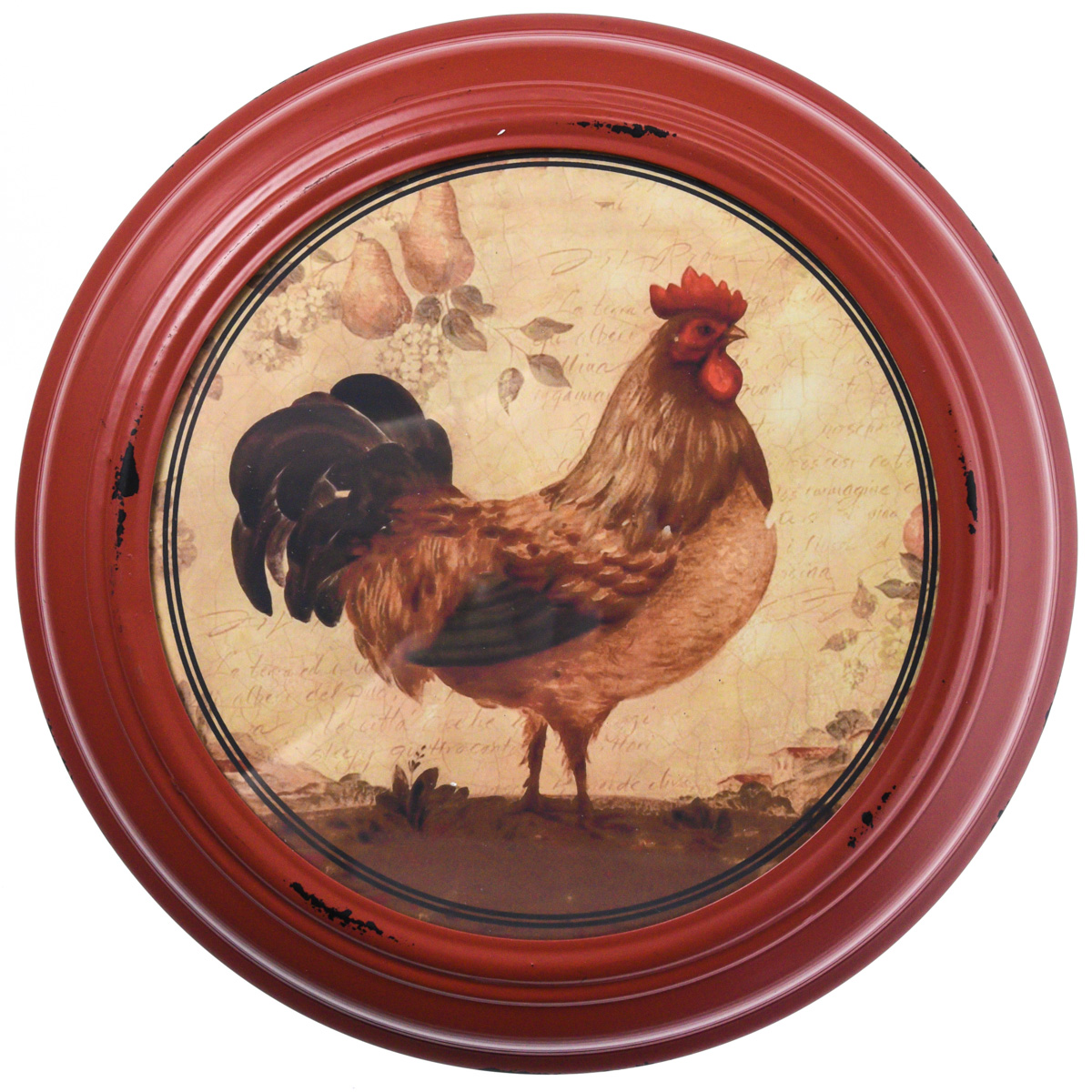 Framed Rooster Print Wall Decor - Red  sc 1 st  Cracker Barrel & Rooster | Collections - Cracker Barrel Old Country Store