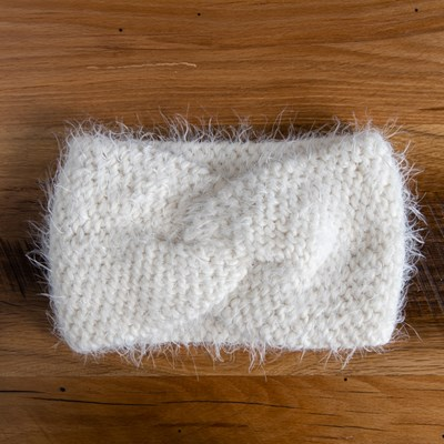 Winter White Headwrap