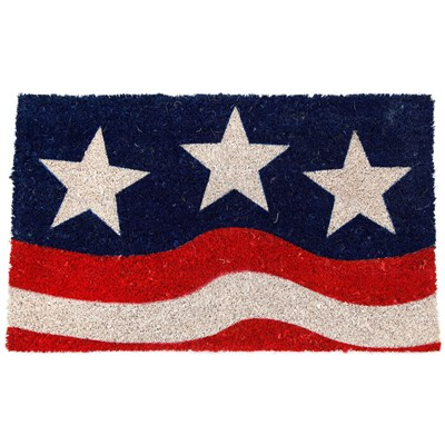 Stars and Stripes Coir Doormat