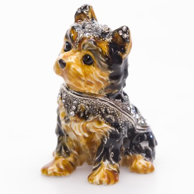Yorkshire Terrier Jeweled Box