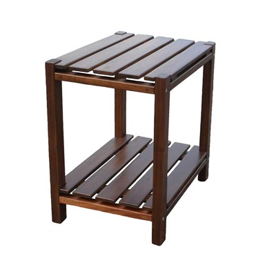 Rutledge Weather-Resistant Side Table - Elm