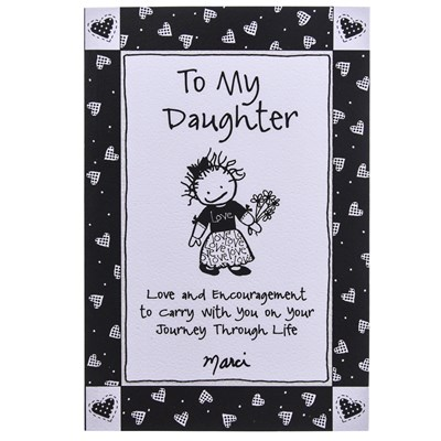 To My Daughter Gift Book