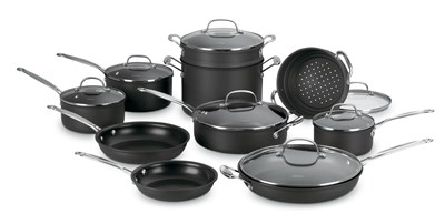 Cuisinart Non-Stick 17-Piece Cookware Set
