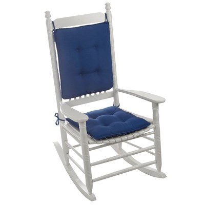 Veranda Blue Reversible Rocker Cushion Set