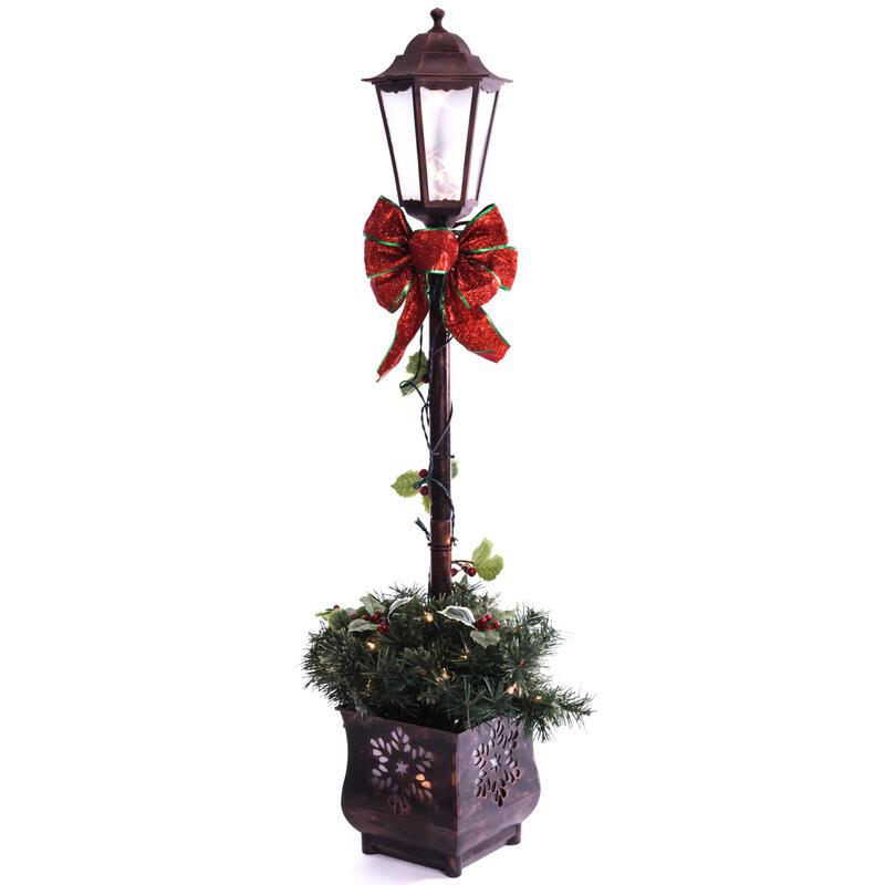 4 light up lamp post 0