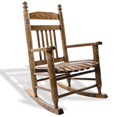 Slat Child Rocking Chair - Hardwood