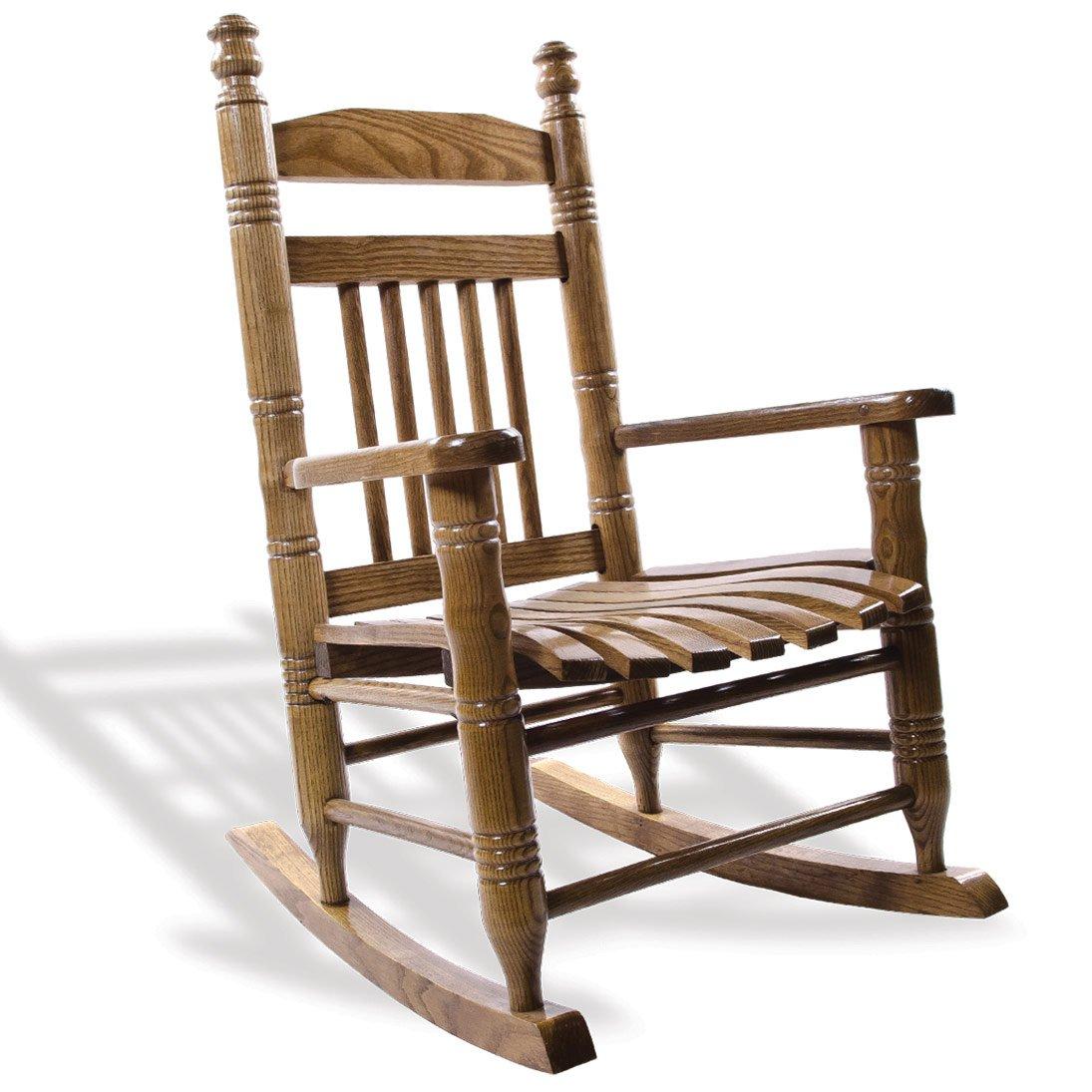 Charmant Slat Child Rocking Chair   Hardwood
