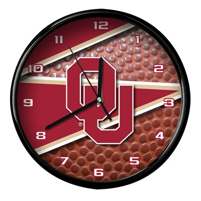 Oklahoma - Football Clock