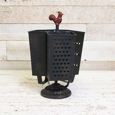 Metal Grater Caddy