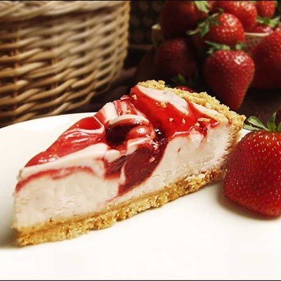 Tennessee Cheesecake ® Strawberry Swirl Cheesecake