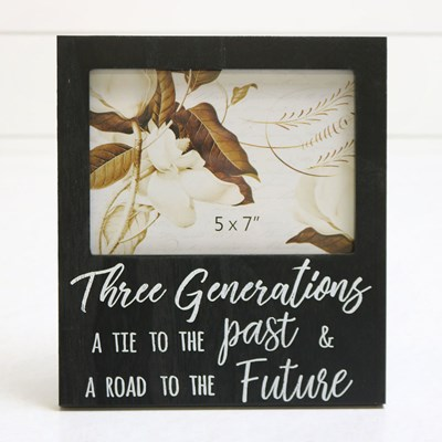 Three Generations Photo Frame