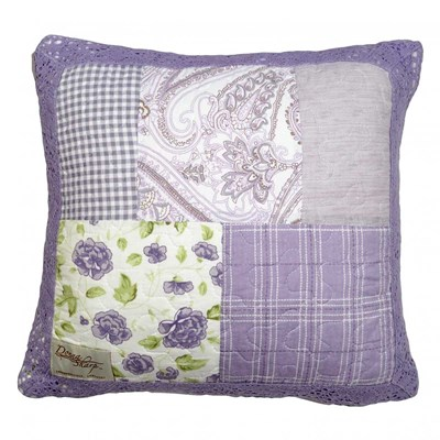 Lavender Rose Pillow by Donna Sharp - Square