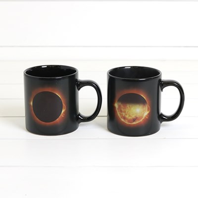 Heat Reactive Eclipse Mug