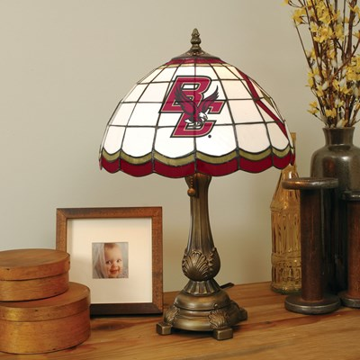 Tiffany Table Lamp - Boston College