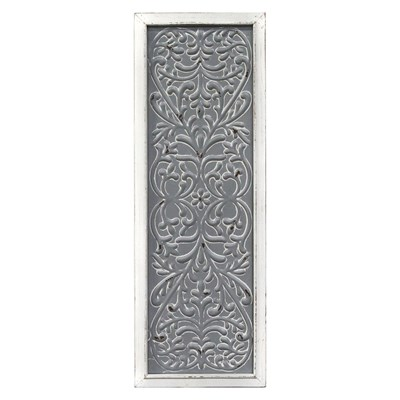 Metal Embossed Panel Wall Decor