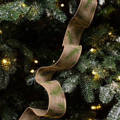 Pine Needle Wired Ribbon