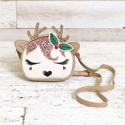 Children's Reindeer Crossbody Purse